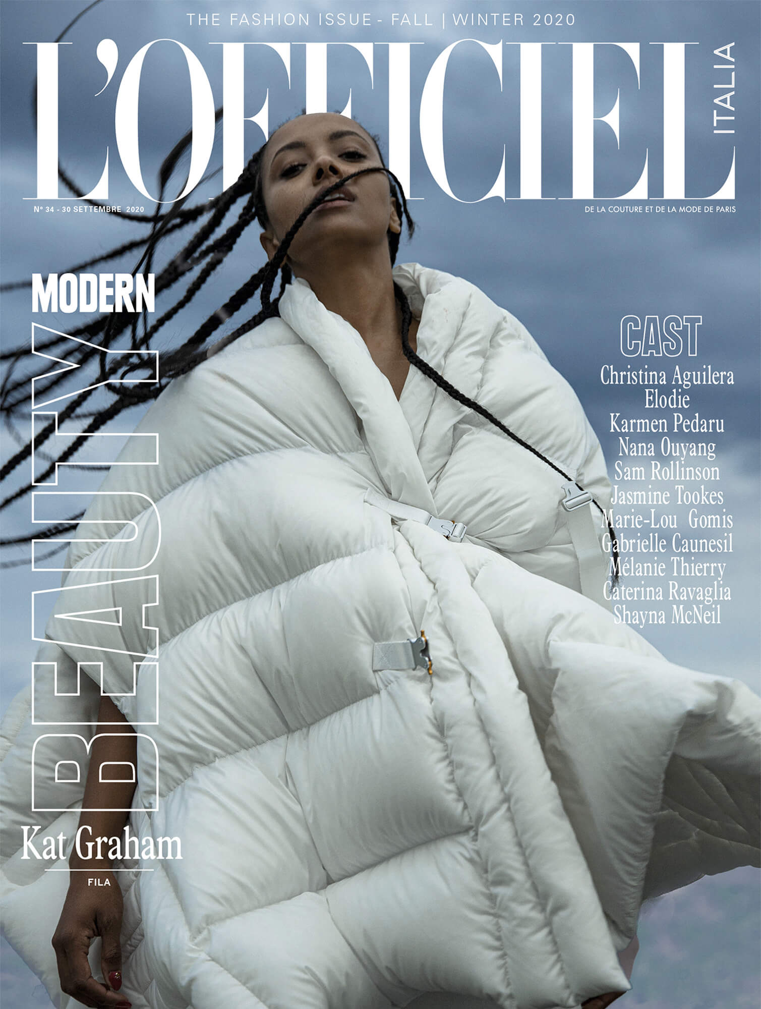 LOfficiel-KatGraham-Cover